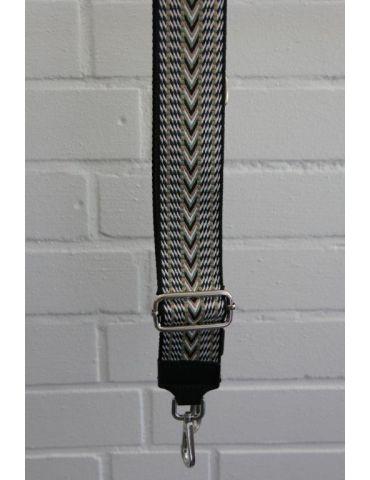 Taschen Gurt Handtasche Gürteltasche schwarz weiß beige oliv Muster