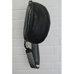 Taschen Gurt Handtasche Gürteltasche schwarz...