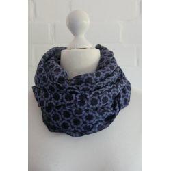 Schal Tuch Loop Made in Italy Seide Baumwolle...