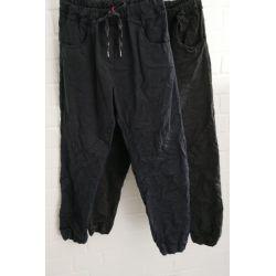 Bequeme Sportliche Damen Hose dunkelblau mit...