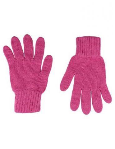 Zwillingsherz Handschuhe Fingerhandschuhe Classic pink rose rosa mit Kaschmir