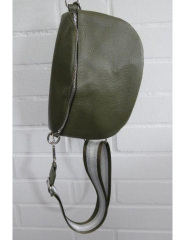 Taschen Gurt Handtasche Gürteltasche oliv...