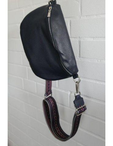 Taschen Gurt Handtasche Gürteltasche dunkelblau...