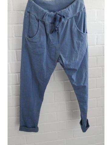Wendy Trendy JogPants Jogginghose Damenhose Hose jeansblau verwaschen