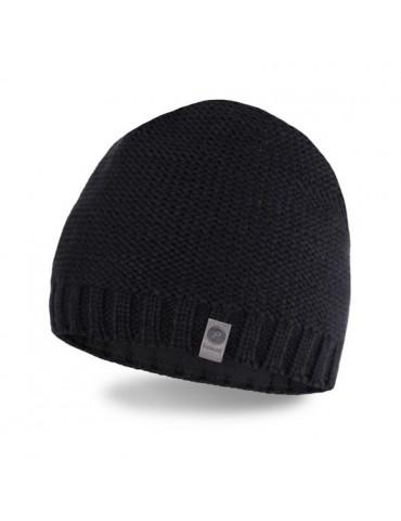 PaMaMi Herren Men Man Mütze Beanie schwarz black 15027 mit Fleece
