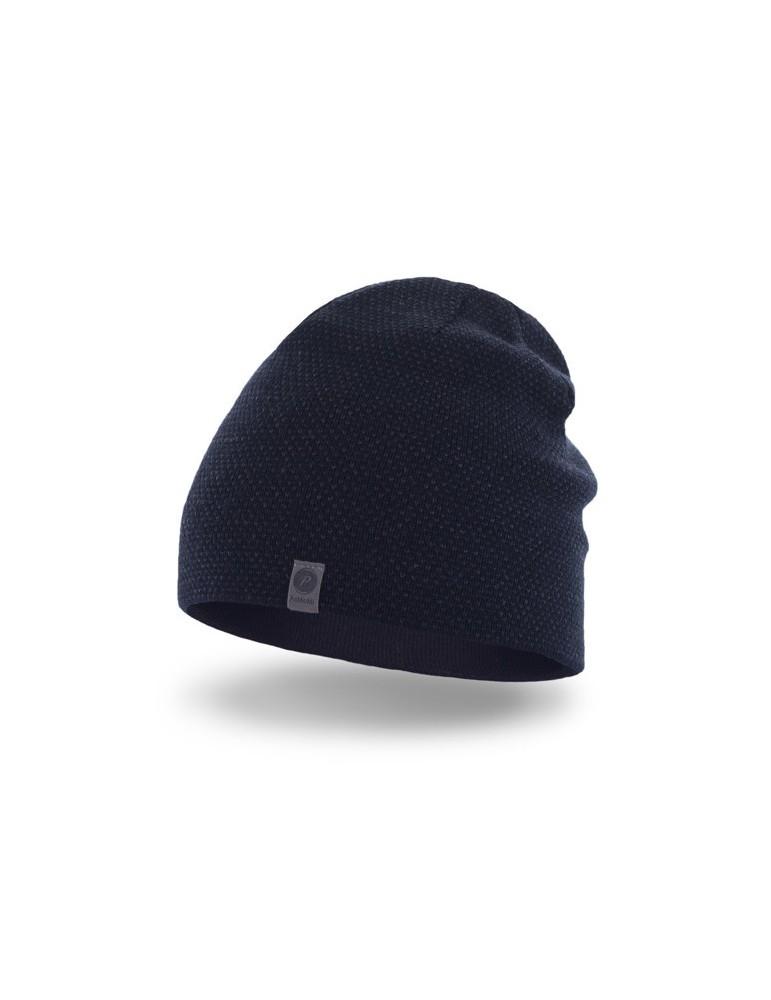 PaMaMi Herren Men Man Mütze Beanie dunkelblau blau marine 17023