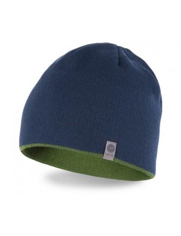 PaMaMi Herren Men Man Mütze dunkelblau blau oliv uni 16003