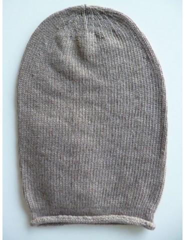 Damen Mütze Beanie sand...