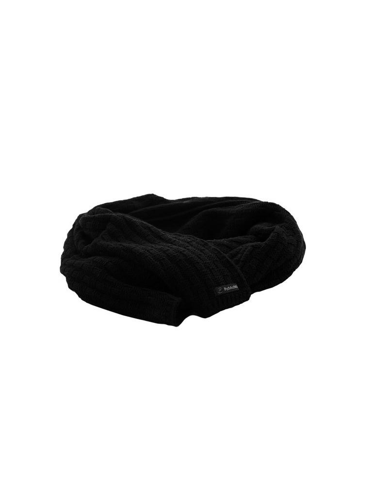 PaMaMi Damen Winterschal Schal schwarz black Karo 16647