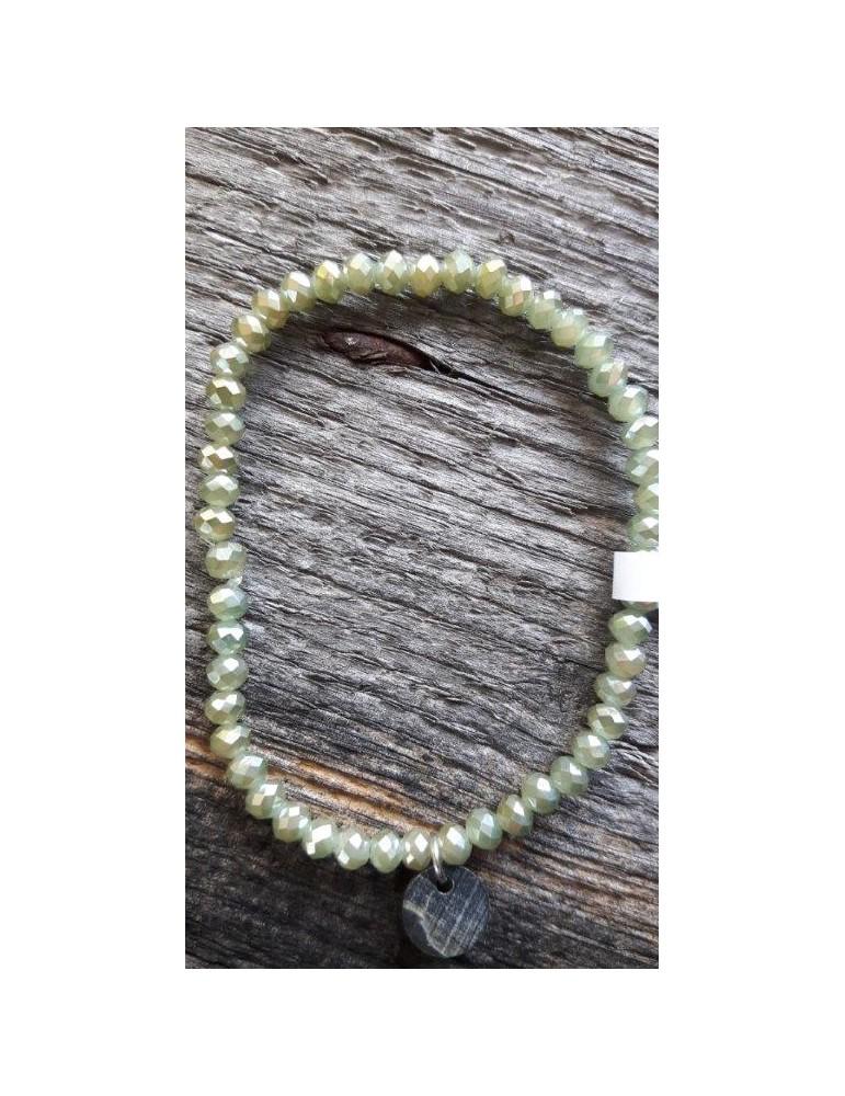 Armband Kristallarmband Perlen helloliv klein Glitzer Schimmer elastisch