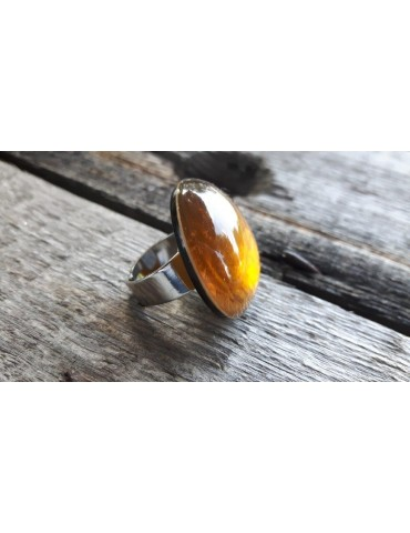 Culture Mix Ring Damenring Metall Perlmutt...