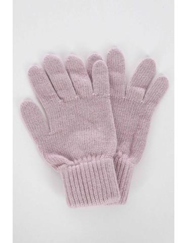 Zwillingsherz Handschuhe Fingerhandschuhe Classic altrose rose rosa mit Kaschmir