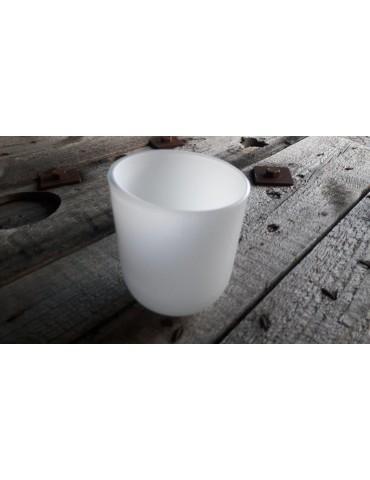 Teelicht Teelichtglas Kerzenständer Glas weiß white 2575199