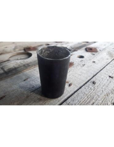 Teelicht Teelichtglas Kerze Glas schwarz matt 11209