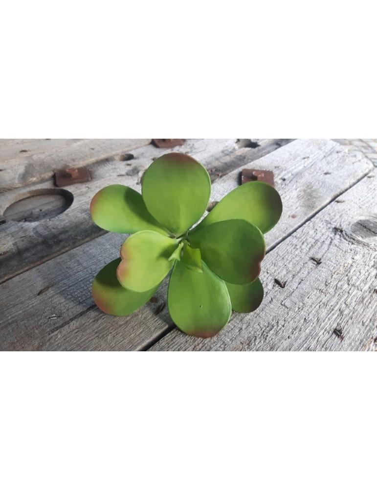 Kunst Sukkulente Deko Kunststoff grün green 130855