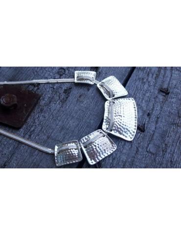 Bijoux Damen Kette Halskette silber gold farben Metall 8078580