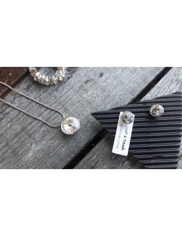Bijoux Damen Modeschmuck Kette Halskette silber weiß 9058800