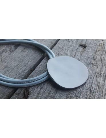 Bijoux Damen Modeschmuck Kette Halskette bleu grau 8081072