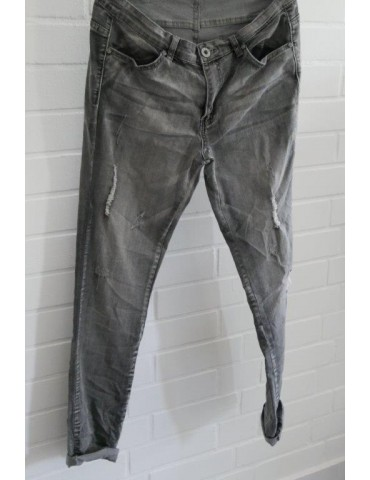 C & S Coole Jeans Hose Damenhose grau...