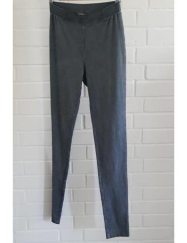 C & S Legging Hose Damenhose jeansblau Gr. L/XL