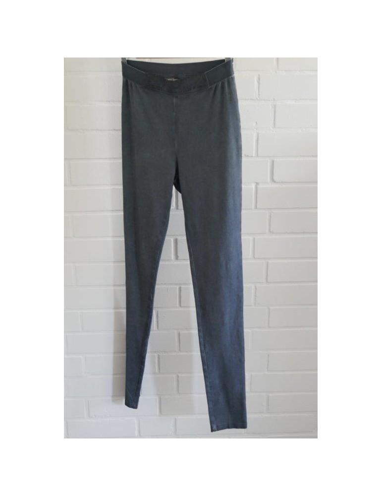 C & S Bequeme Sportliche Legging Hose Damenhose jeansblau Gr. L/ XL 38 - 42