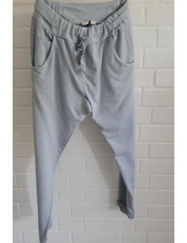 Bequeme Jogginghose JogPants Damenhose Hose bleu blau Gr. XL 40 42