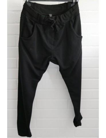Jogginghose JoggPants Damenhose Hose schwarz black