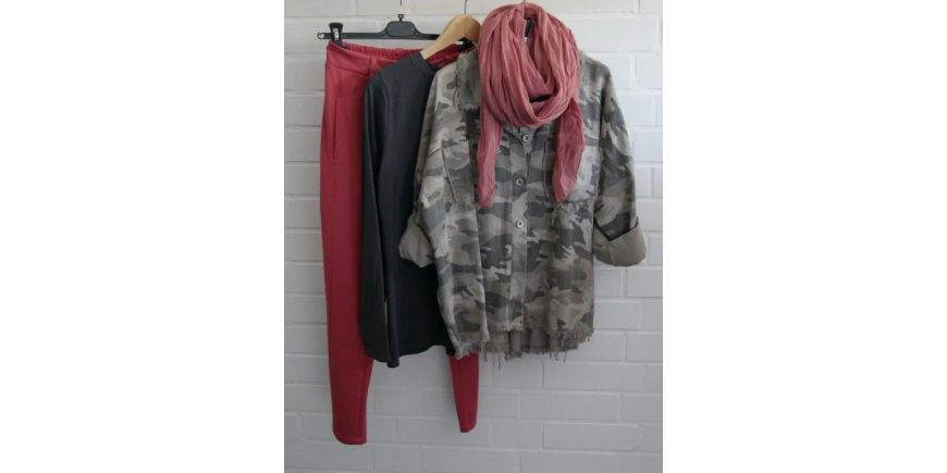 CAMOUFLAGE ALS JEANSHEMD