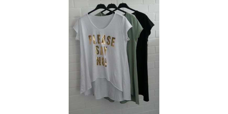 NEUES STATEMENT SHIRT - PLEASE SAY NO