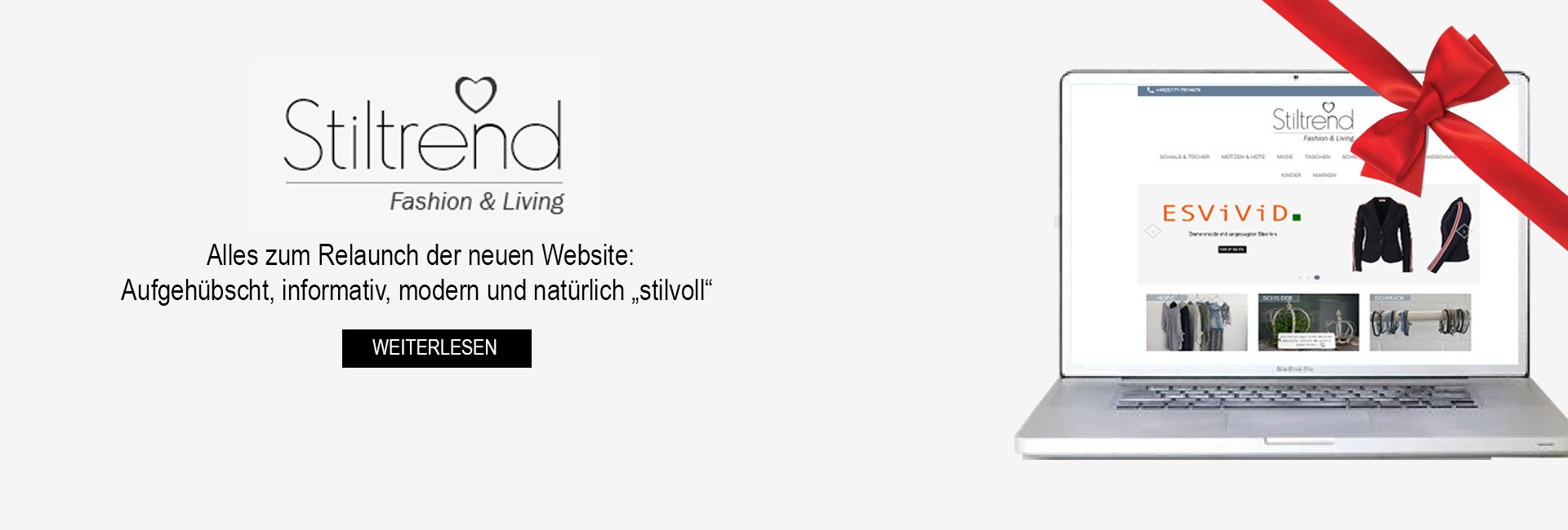 Unser neuer Online Shop